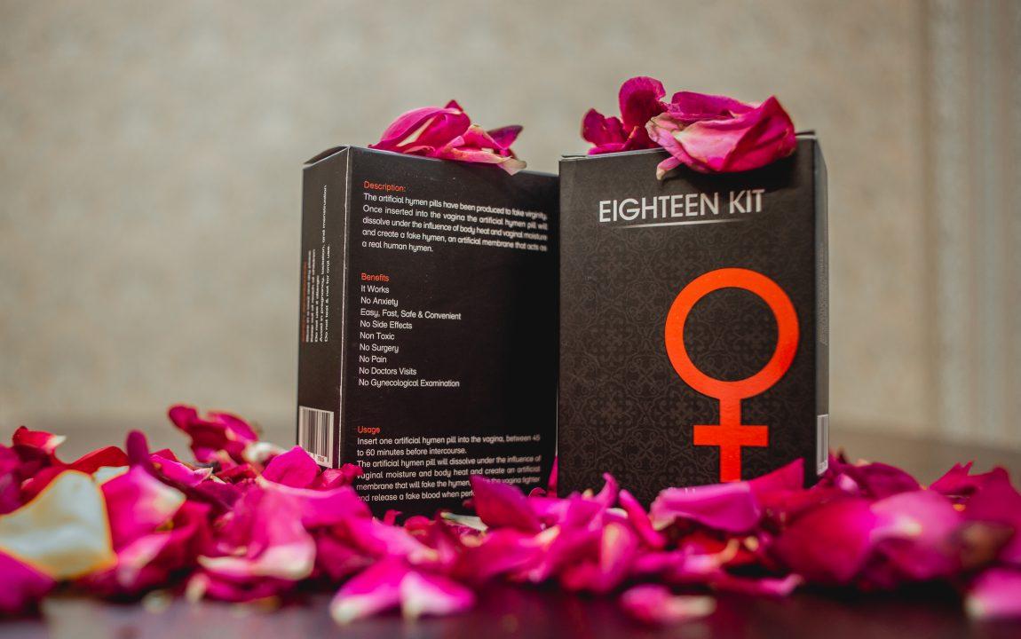 Eighteen kit artifical hymen